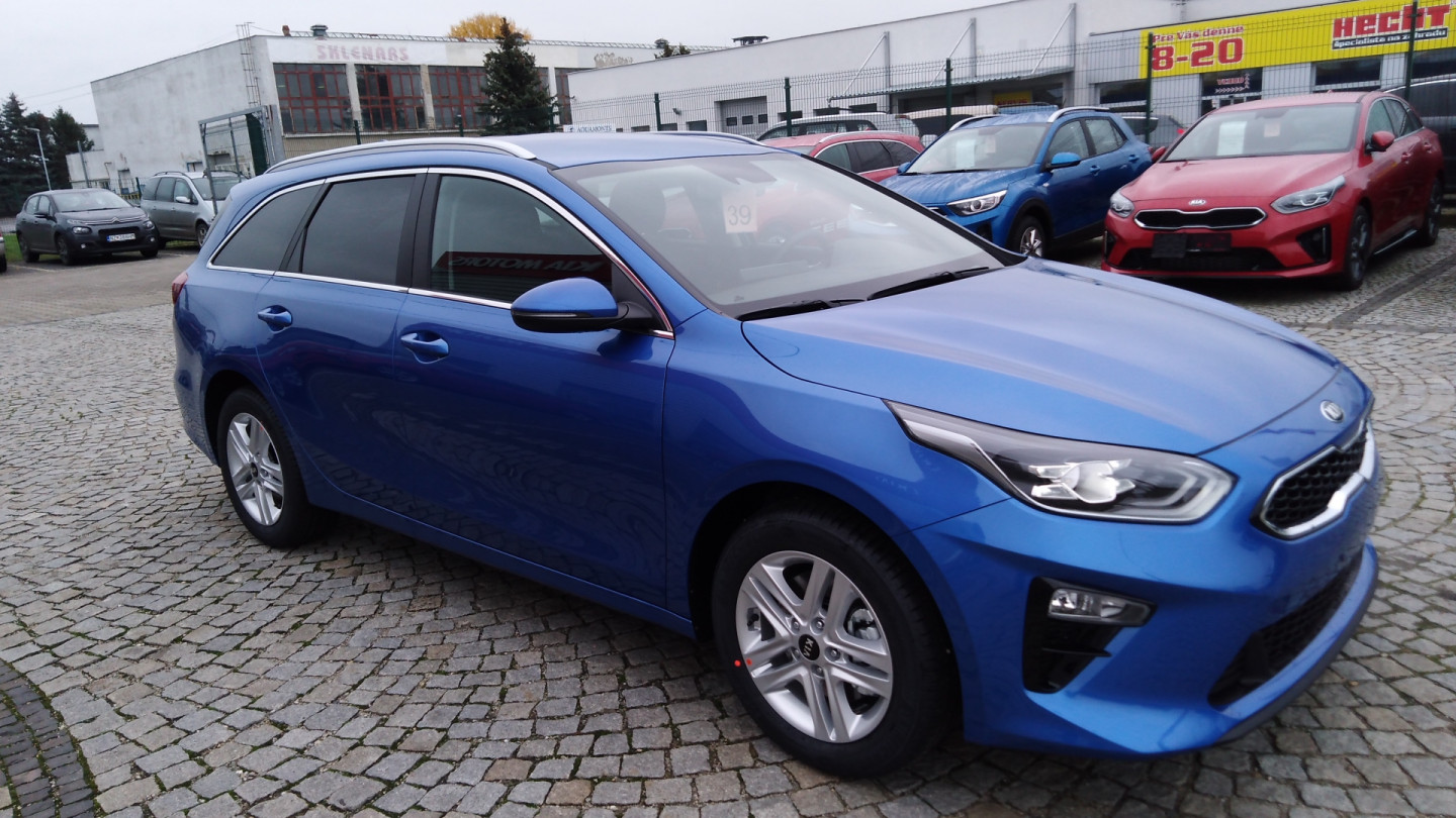 KIA Ceed SW III 1.4 T-GDI GOLD LED PACK